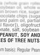 Precautionary labelling & peanut, hazelnut & milk in foodstuffs in Canada